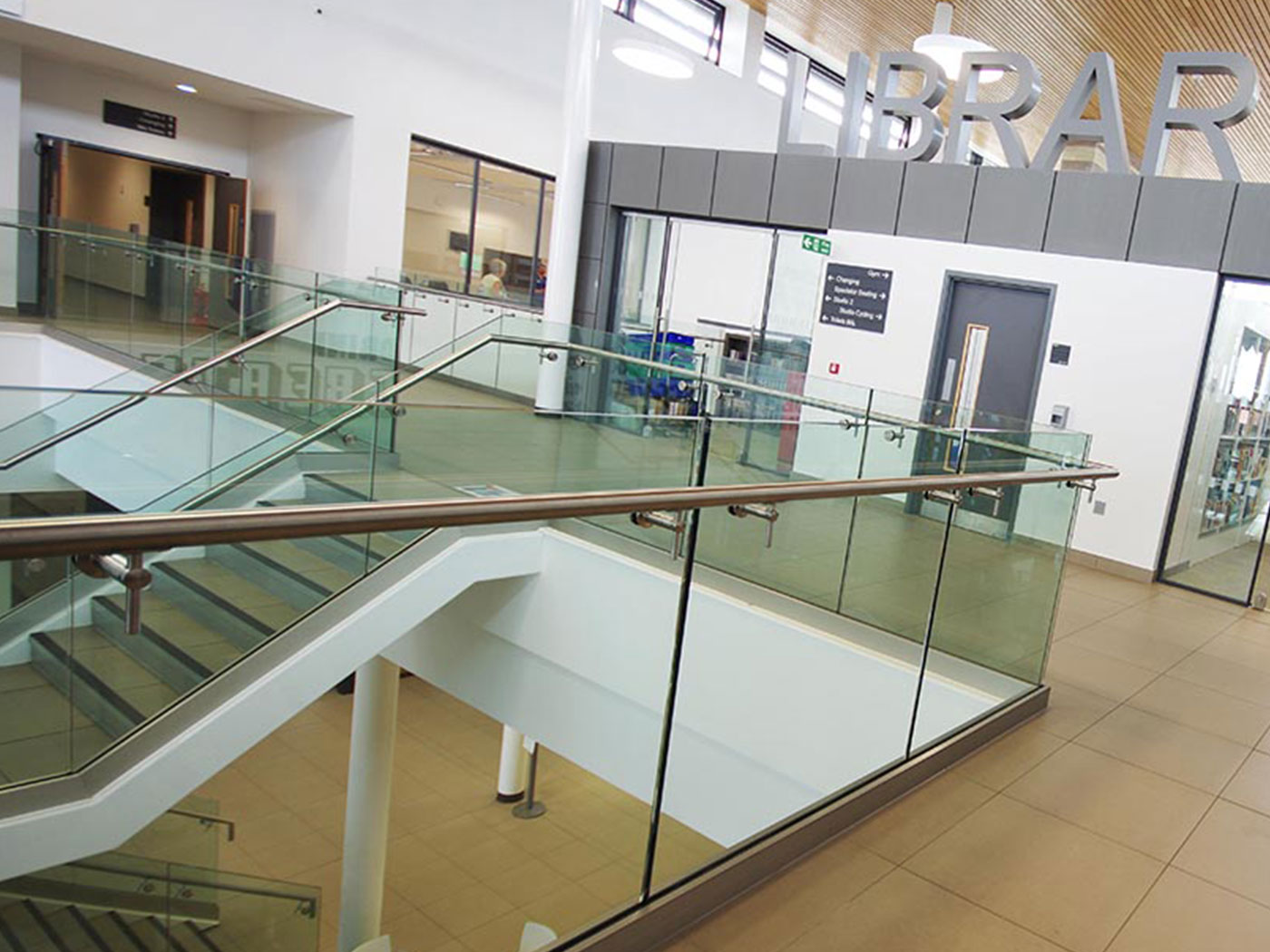 glass balustrades north east